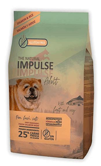 IMPULSE - Pienso para perros natural de salmón