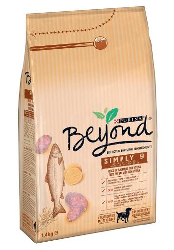 Purina Beyond - Pienso natural para perro adulto salmón