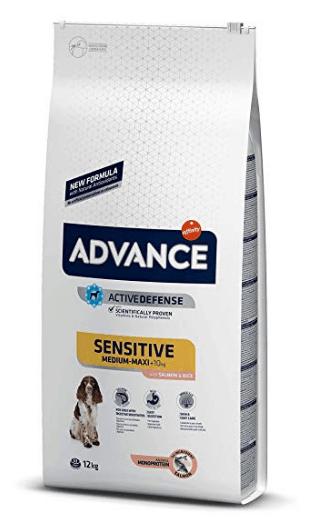 Advance Sensitive - Pienso para perro adulto con salmón