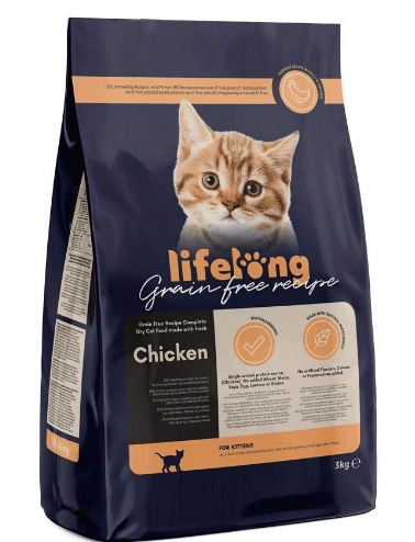 Amazon Lifelong - Alimento seco para gatitos