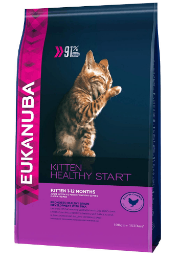 Eukanuba Healthy Start - Pienso para gatitos rico en pollo