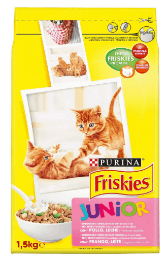 Friskies - Gato Junior con Pollo